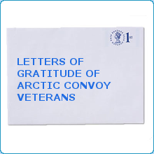 Letters Of Gratitude of Arctic Convoy Veterans